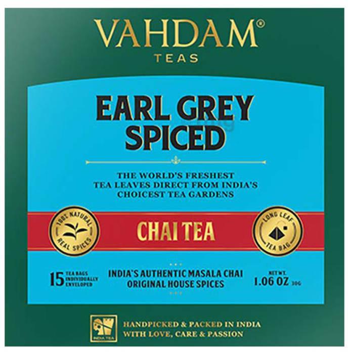 Vahdam Teas Masala Chai Tea (2gm Each) Earl Grey Spiced