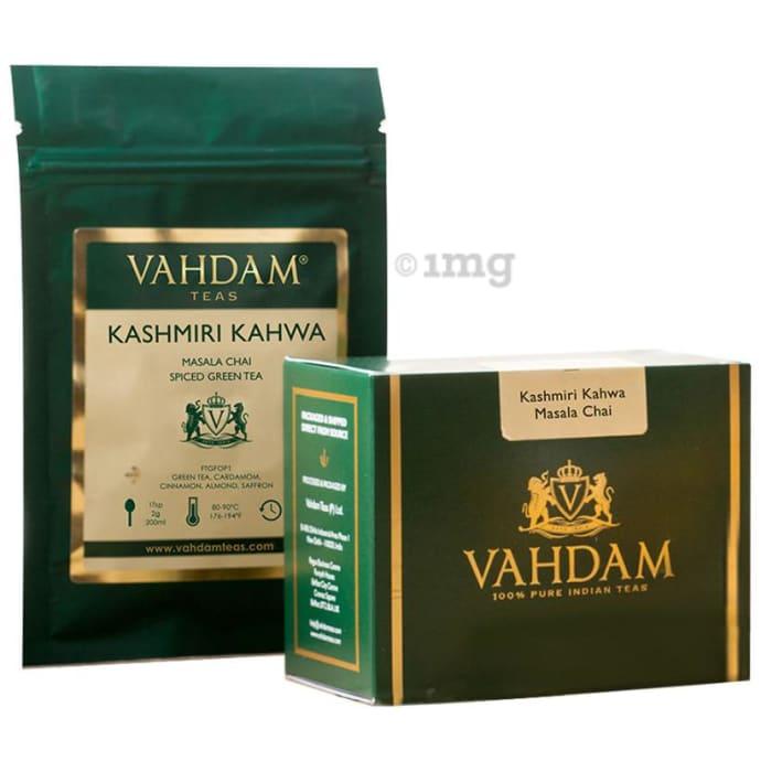 Vahdam Teas Kashmiri Kahwa Masala Chai Spiced Green Tea