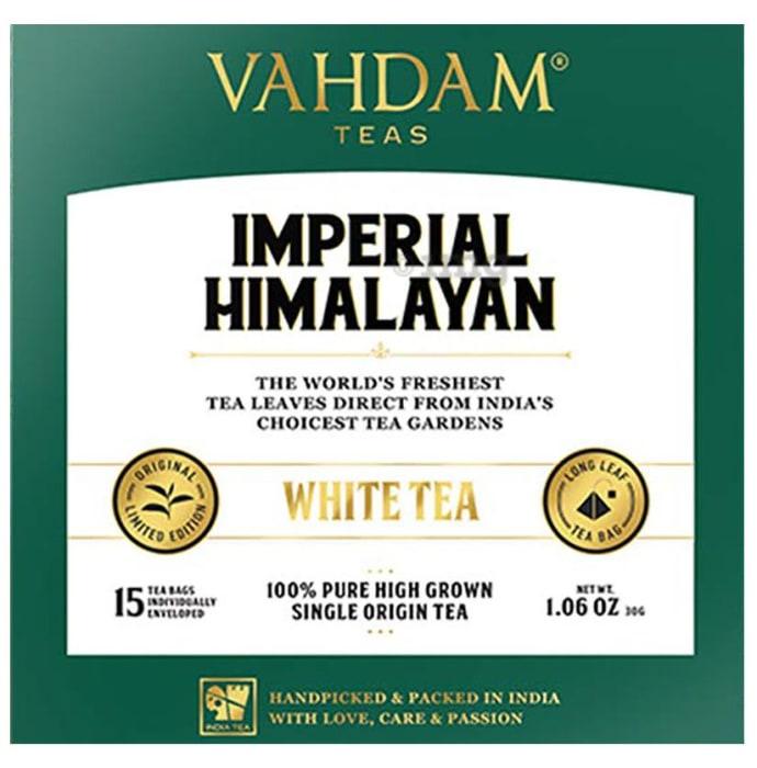 Vahdam Teas Imperial Himalayan White Tea (2gm Each)