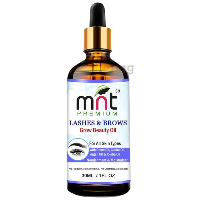 MNT Premium Lashes & Brows Grow Beauty Oil