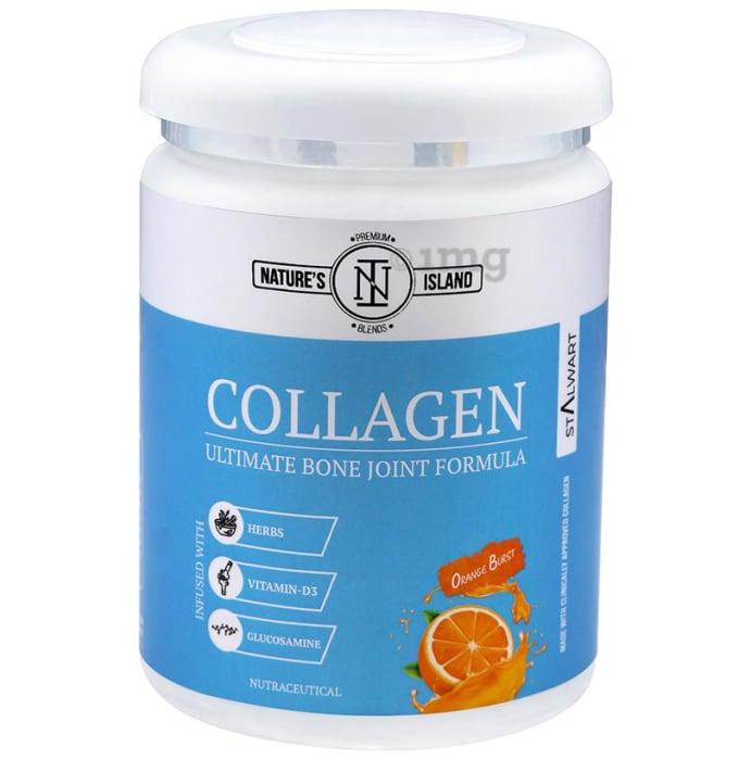 Nature's Island Collagen Ultimate Bone Joint Formula Orange Burst