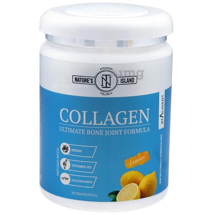 Nature's Island Collagen Ultimate Bone Joint Formula Lemonade