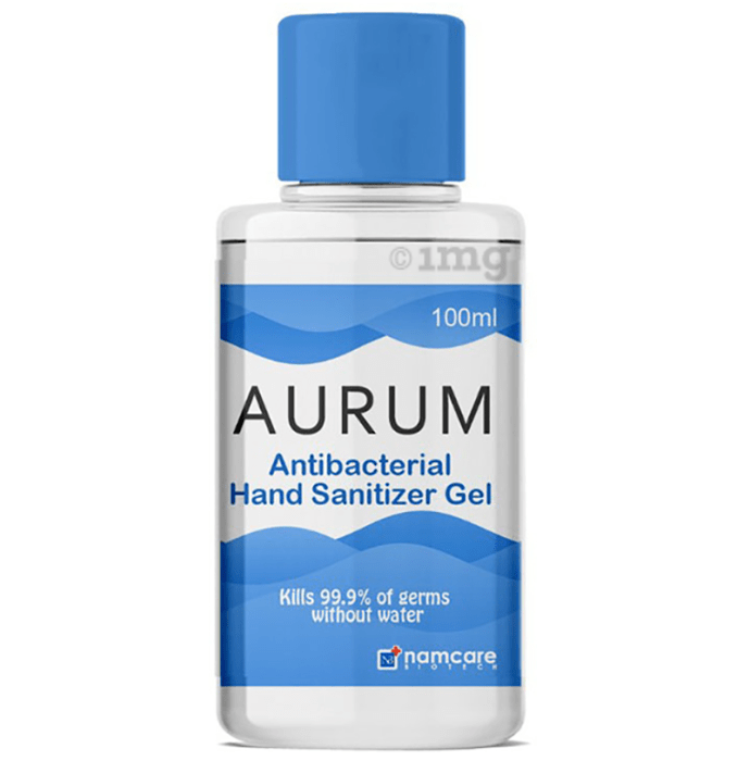 Aurum Antibacterial Hand Sanitizer Gel