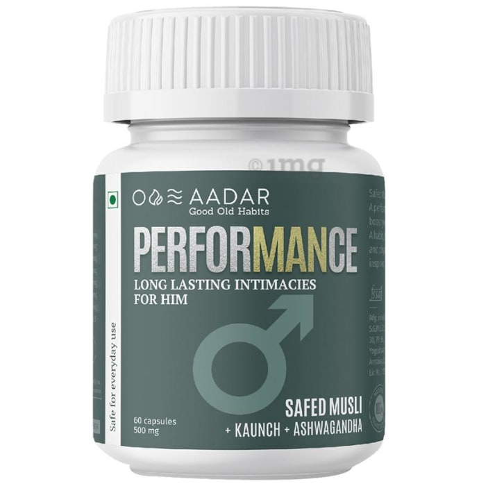 Aadar Performance 500mg Capsule