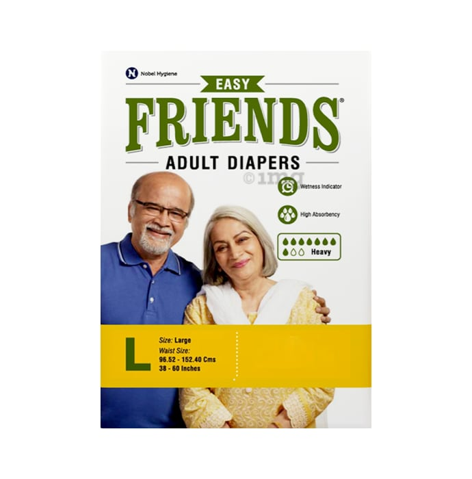Friends Easy Adult Diaper Large