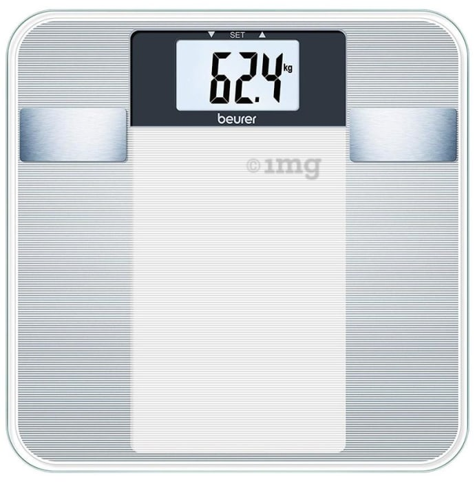 Beurer BG 13 Diagnostic Bathroom Scale Transparent