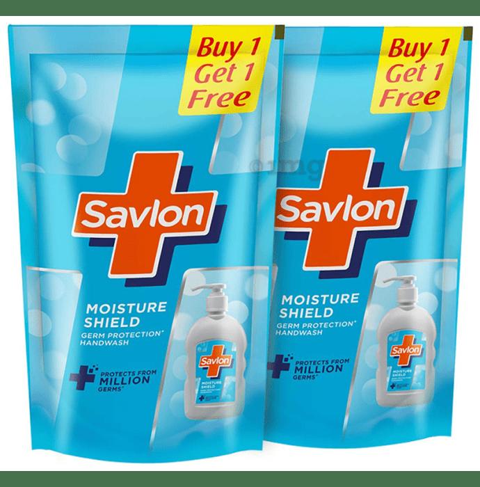 Savlon Germ Protection Handwash Refill 750ml Each (Buy 1 Get 1 Free) Moisture Shield