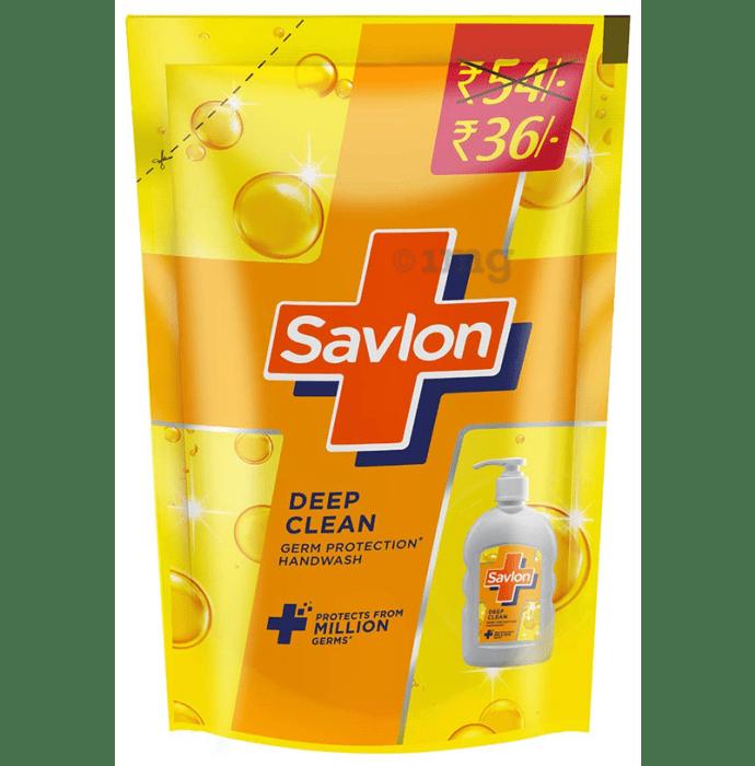 Savlon Deep Clean Refill Germ Protection Handwash