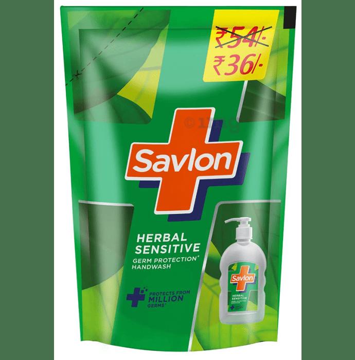Savlon Herbal Sensitive Refill Germ Protection Handwash
