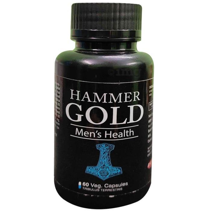 Dr Chopra Hammer Gold Men's Health Veg Capsule