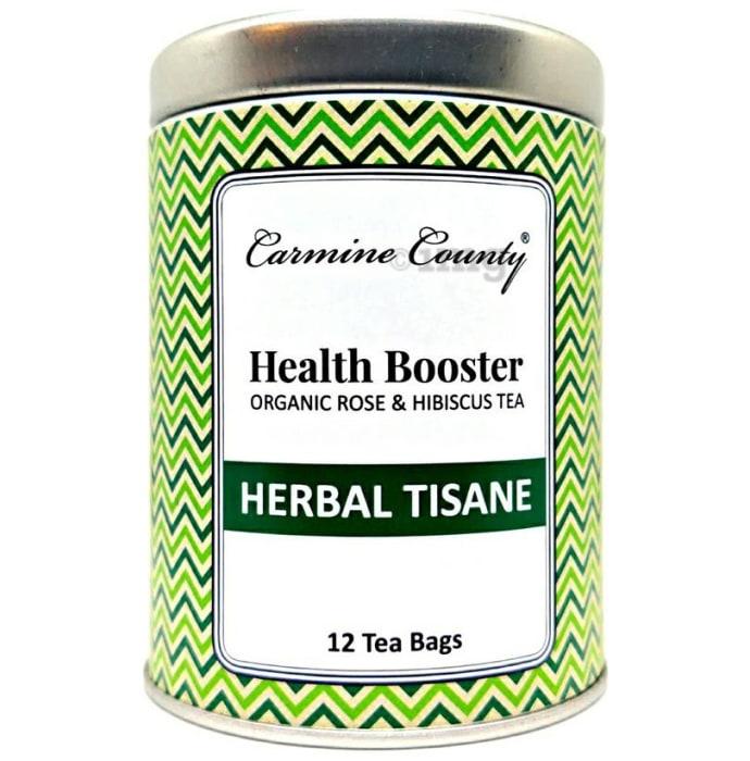 Carmine County Herbal Tisane Tea Bag Health Booster