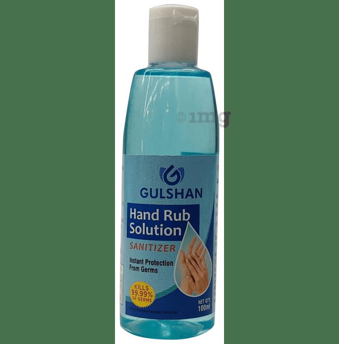 Gulshan Hand Rub Solution Sanitizer (100ml Each)