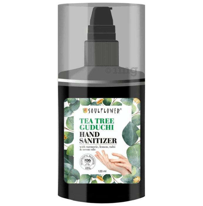 Soulflower Tea Tree Guduchi Hand Sanitizer
