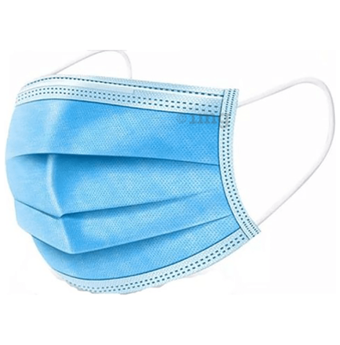 House of Pharma 3Ply Surgical Face Mask with Meltblown Filter & Nose Pin