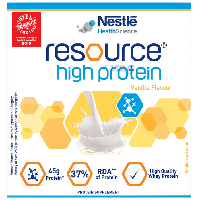 Nestle Resource High Protein Powder Vanilla