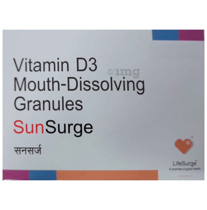 Sunsurge Mouth-Dissolving Granules