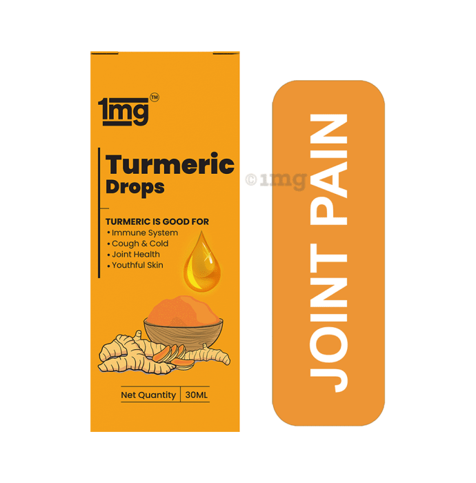 1mg Turmeric Drops with Piperine