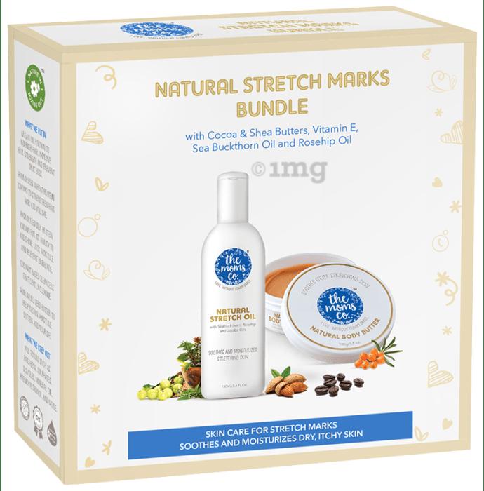 The Moms Co. Natural Stretch Marks Bundle