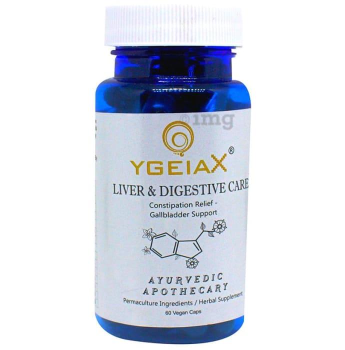 YgeiaX Liver & Digestive Care Vegan Capsule