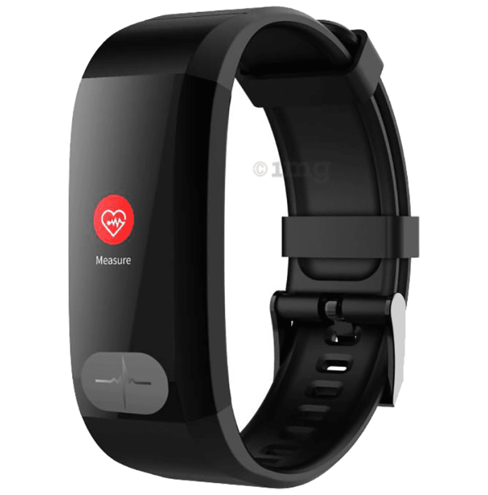 GOQii Vital ECG Activity Tracker with 3 Months Personal Coaching Subscription Black