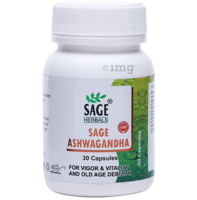 Sage Herbals Ashwagandha Capsule