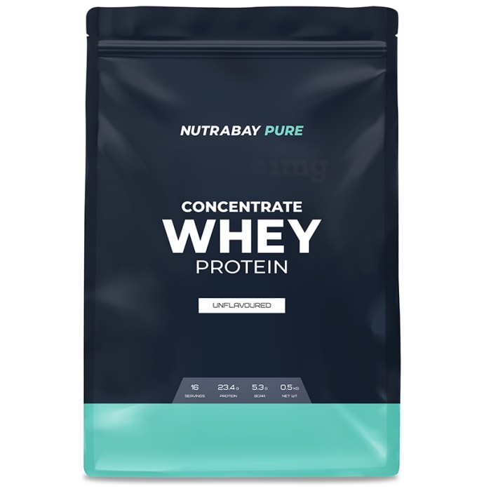 Nutrabay Whey Concentrate Powder Unflavoured