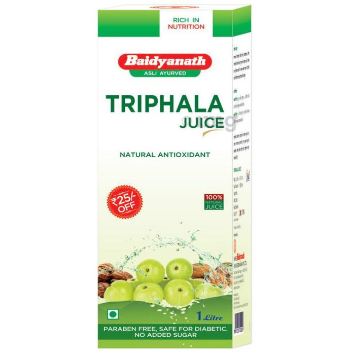 Baidyanath (Nagpur) Triphala Juice (1Litre Each)
