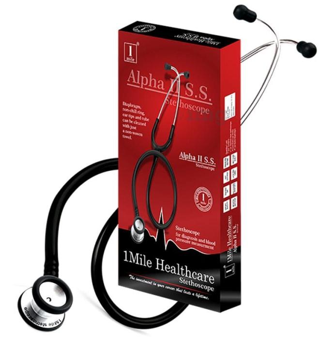 1Mile Healthcare Alpha II S.S. Stethoscope