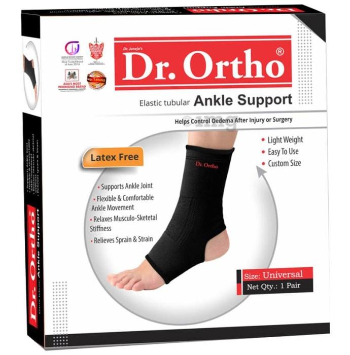 Dr Ortho Elastic Tubular Ankle Support Universal