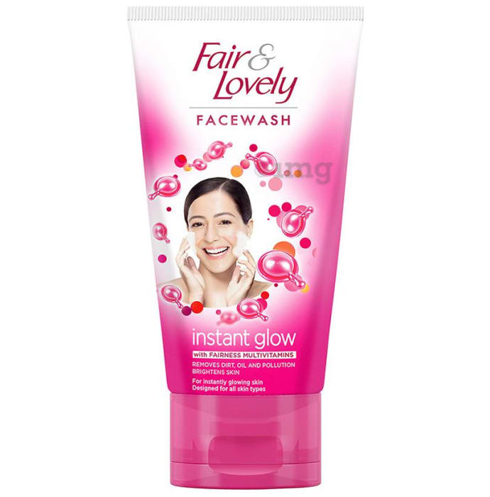 Fair & Lovely Instant Glow Face Wash with Fairness Multivitamins
