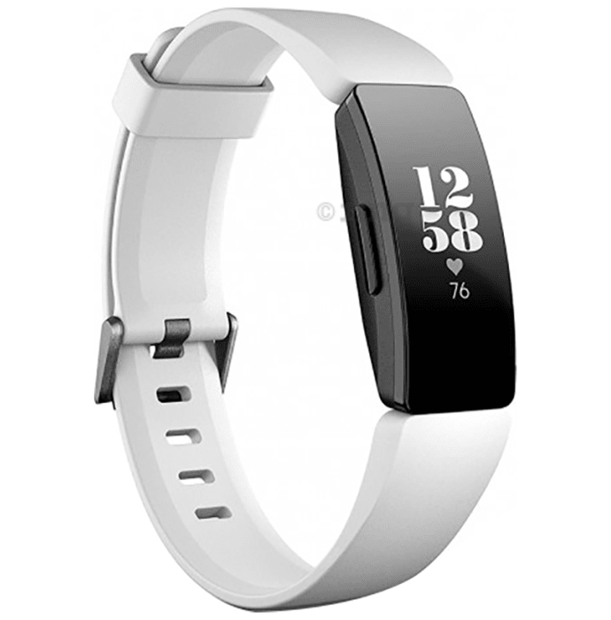 Fitbit Inspire Heart Rate Smart Watch Black & White