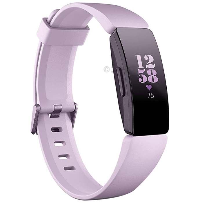 Fitbit Inspire Heart Rate Smart Watch Lilac