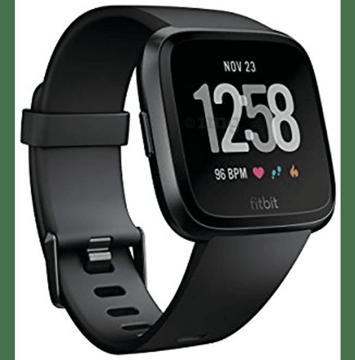 Fitbit Versa Smart Watch Black