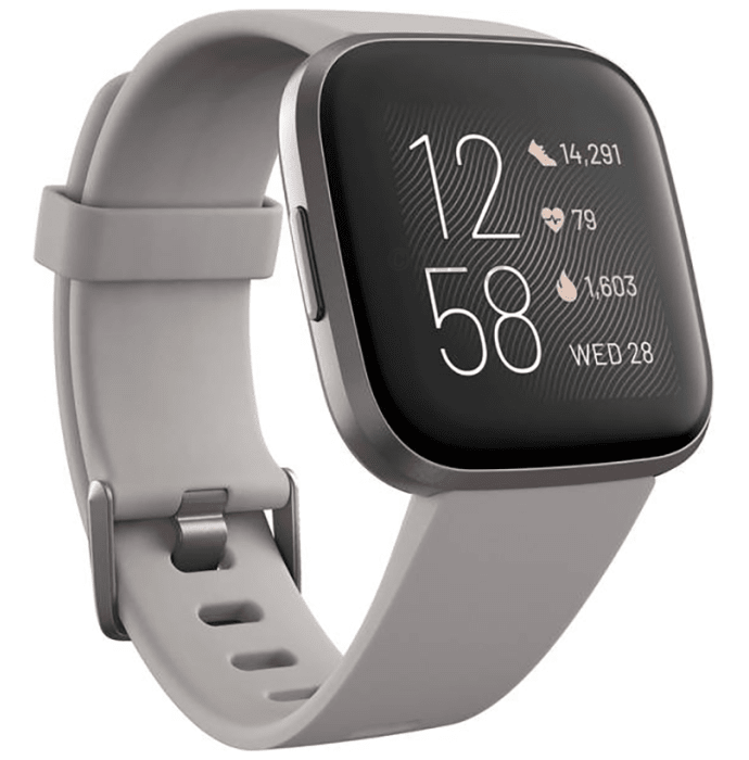 Fitbit Versa 2 Smart Watch Sandstone-Mist Grey