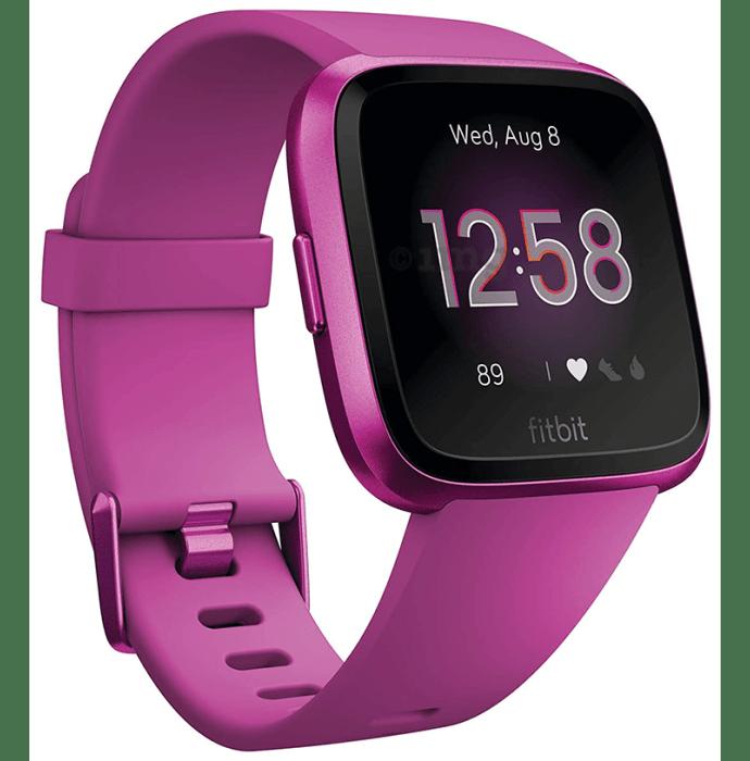 Fitbit Versa Lite Smart Watch Mulberry