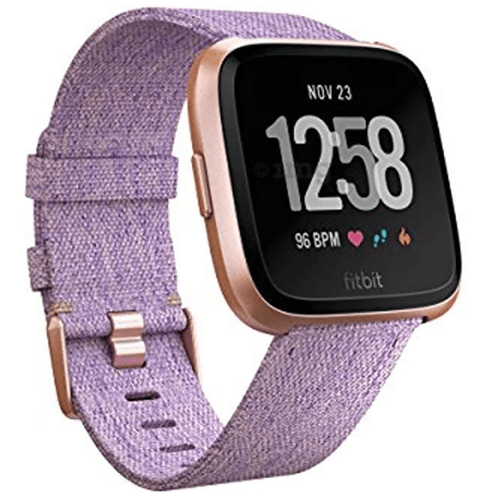 Fitbit Versa Smart Watch Lavender Woven Special Edition