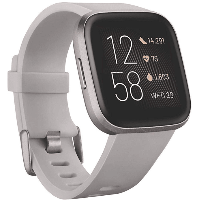 Fitbit Versa 2 Smart Watch Charcoal-Mist Grey