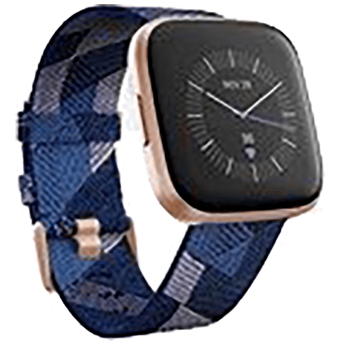 Fitbit Versa 2 Smart Watch Navy-Copper Rose