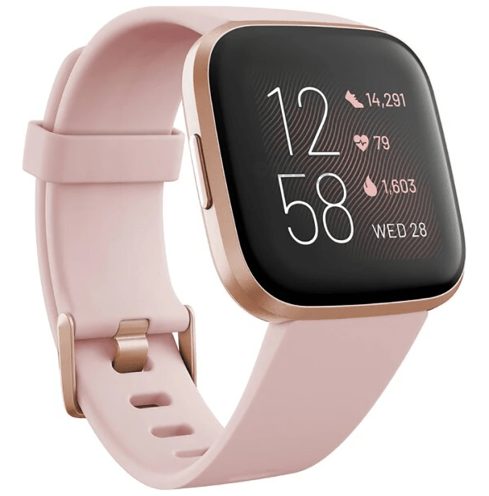 Fitbit Versa 2 Smart Watch Petal-Copper Rose