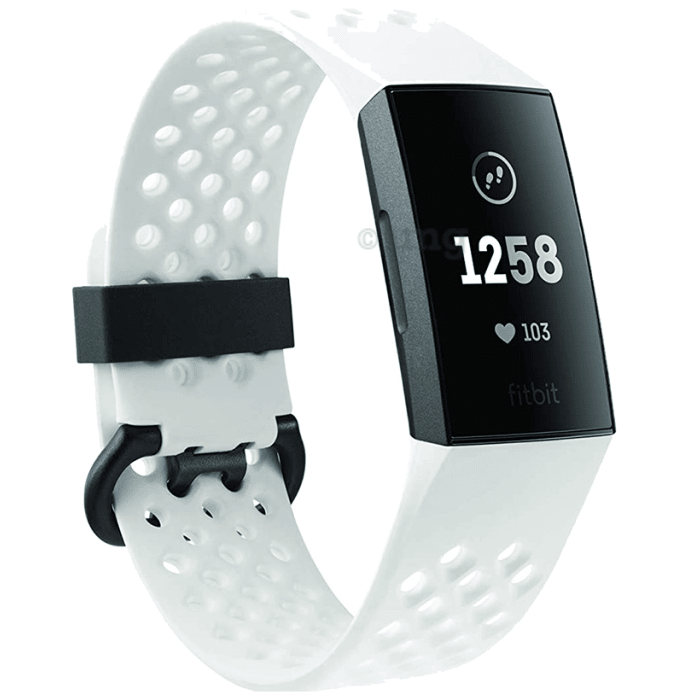 Fitbit Charge 3 Smart Watch Graphite Silicone Special Edition