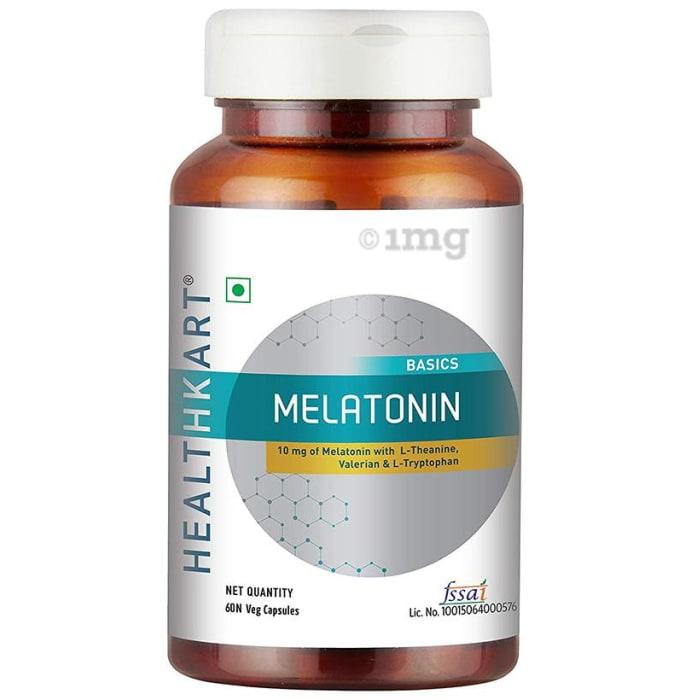 HealthKart Basics Melatonin Veg Capsule
