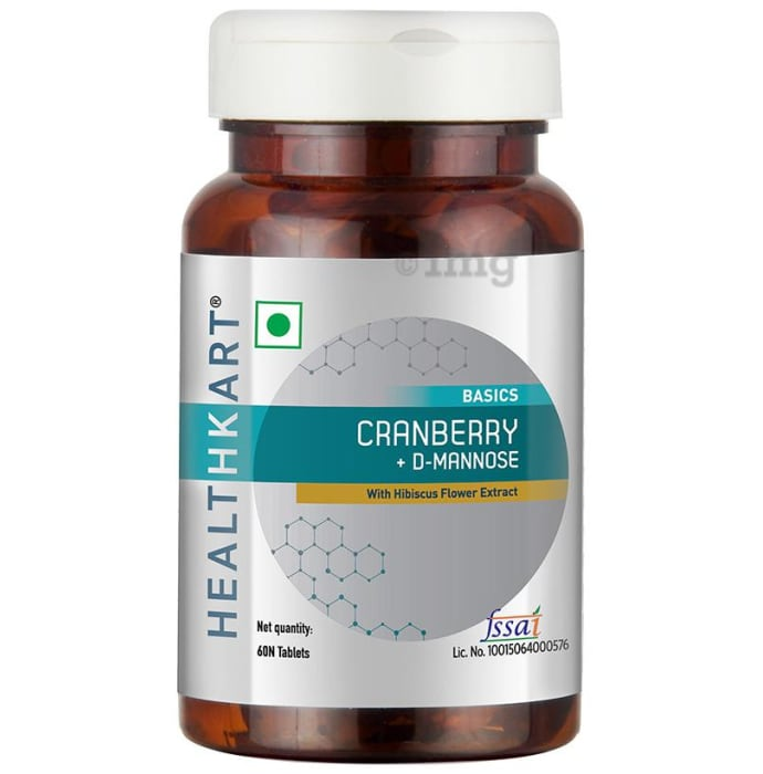 HealthKart Basics Cranberry+D-Mannose Tablet
