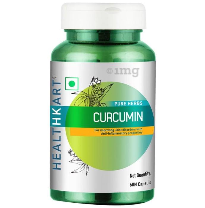 HealthKart Pure Herbs Curcumin Capsule