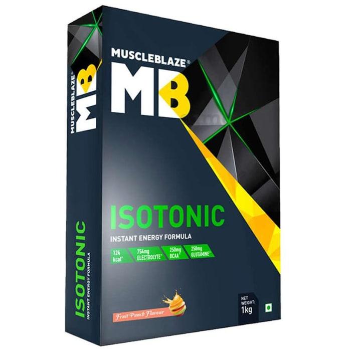 MuscleBlaze MB Isotonic Instant Energy Formula Fruit Punch