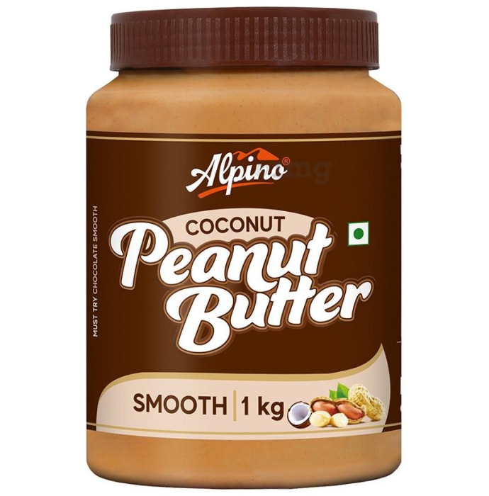 Alpino Coconut Smooth Peanut Butter