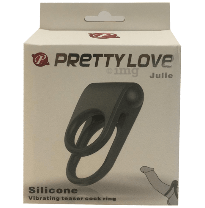 Pretty Love Julie Silicon Vibrating Teaser Cock Ring