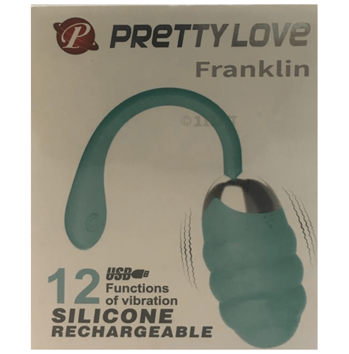 Pretty Love Franklin Silicon Rechargeable Vibrator
