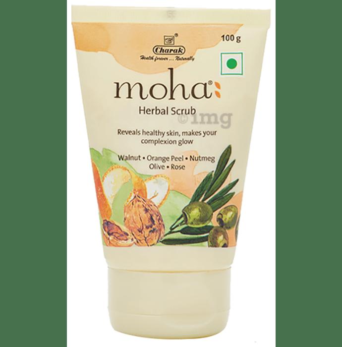 Moha Herbal Scrub (100gm Each) Buy 1 Get 1 Free