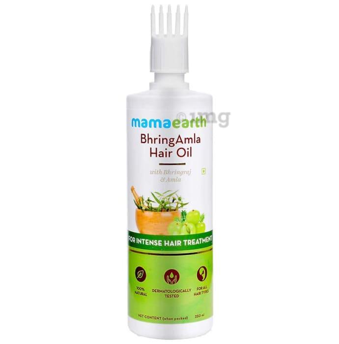 Mamaearth Hair Oil BhringAmla