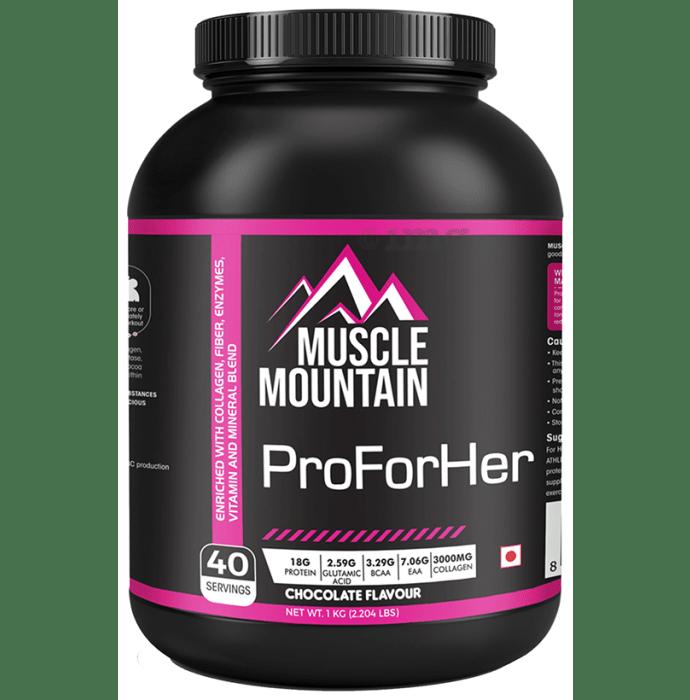 Muscle Mountain ProForHer Chocolate